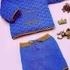 Джемпер и штанишки спицами
