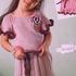 Платье для девочки, вязаное спицами