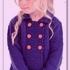 Жакет-пальто для девочки