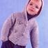 Жакет платочной вязкой для мальчика