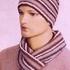 Комплект - шарф, шапка, варежки