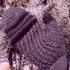 Мужские варежки крючком