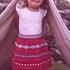 Жаккардовая юбка для девочки