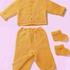 Кофта, штаны и пинетки
