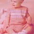 Майка и шорты крючком для возраста 1 год