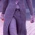 Короткое пальто спицами
