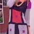 Платье из квадратов крючком