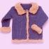 «Джинсковая» куртка крючком
