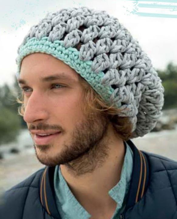 как вязать ажурную шапочку с ушками
