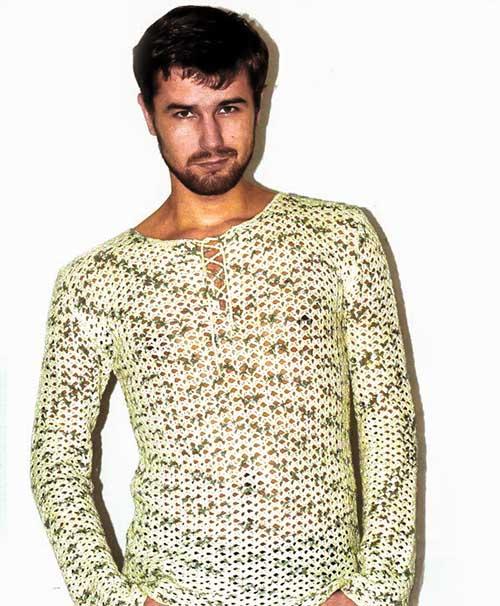 Лёгкий пуловер для мужчин
