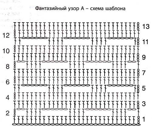 Схемы орнамента для подушек