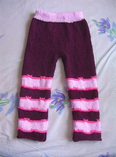 вязание штанишек для девочки