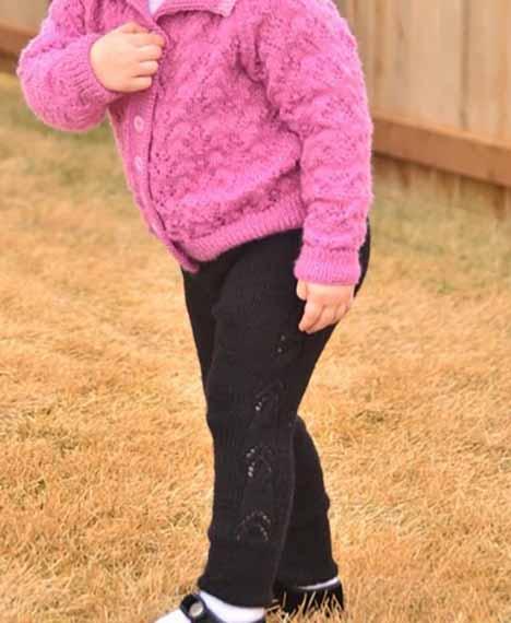 Плотные штанишки для девочки