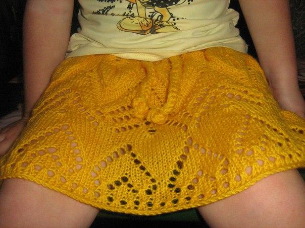 Вязаные юбки девочкам на 13 лет