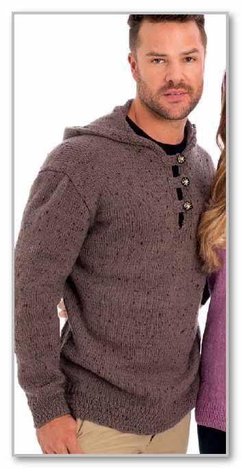 Джемпер с капюшоном мужской