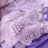 Одеяло крючком в викторианском стиле