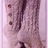 Высокие носки на пуговицах