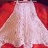 Ажурная вязанная юбка