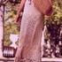 Длинная юбка спицами
