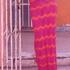 Длинная юбка. Рисунок «павлинье перо».