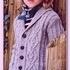Детский жакет с воротником шалька