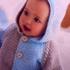 Жакет с капюшоном для малыша. Р-р 56-86