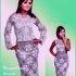 Нарядный костюм крючком - кофточка и платье
