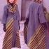 Длинное вязанное пальто спицами