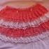 Нарядная юбка крючком