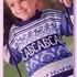 Пуловер для мальчика с жаккардовым рисунком