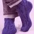 Мужские носки с косами