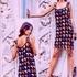 Платье филейным вязанием