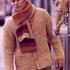 Мужской жакет и шарф спицами