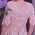 Блуза с рисунком «ананас»